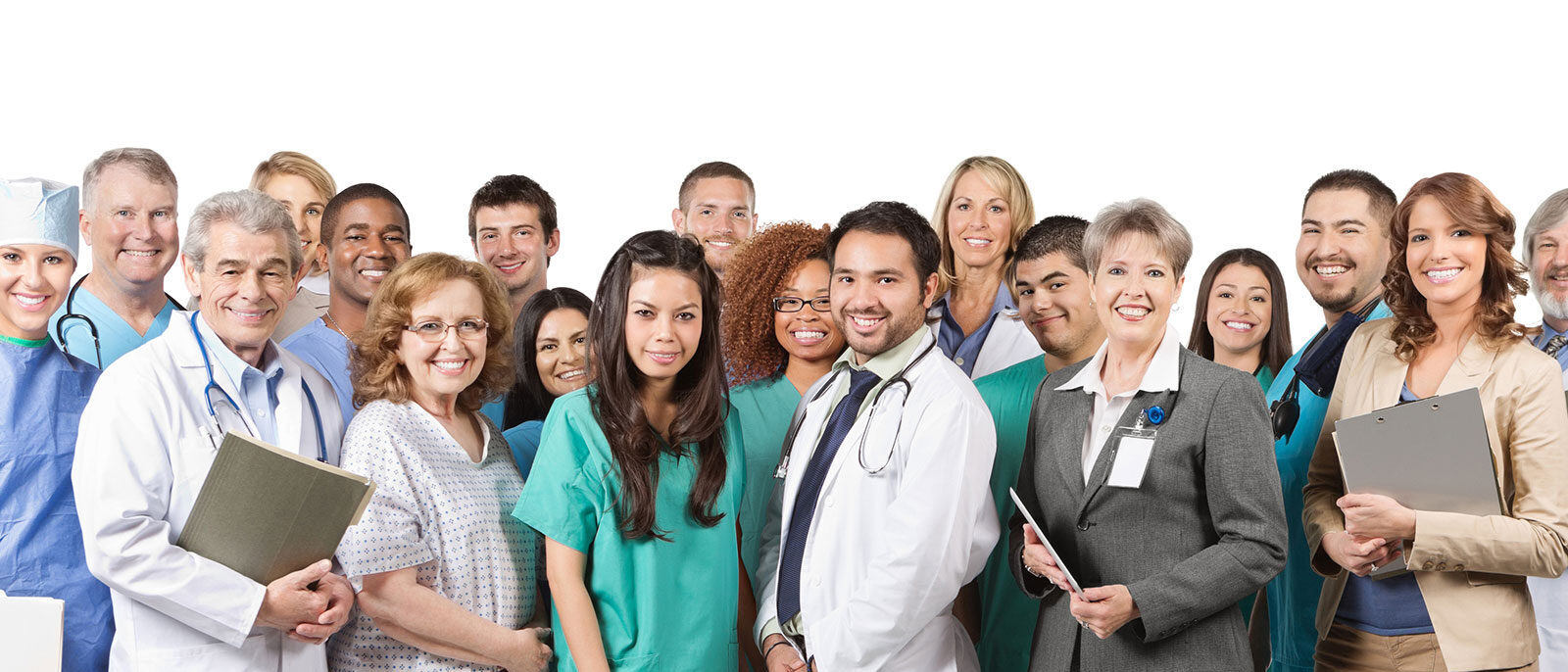 Administrative, professional, and doctor team at Attentive home health in Tarzana