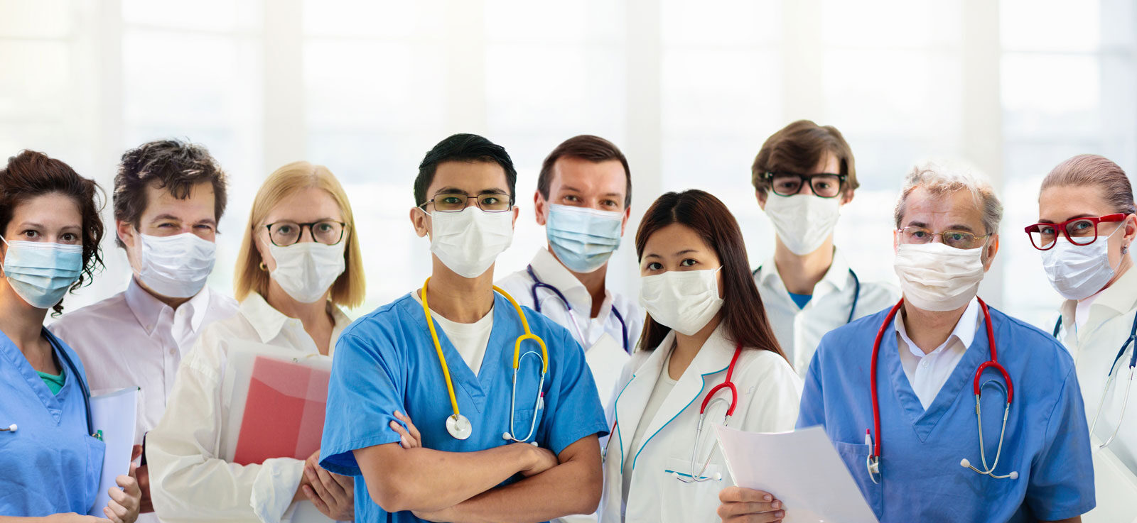 Team of professionals and doctors who work at attentive home health in Tarzana